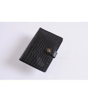 Стильный кожаный холдер чехол для документов, 77157