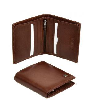 Кожаный мужской кошелек бумажник ручной работы, 76408