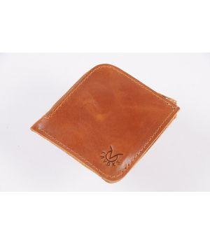 Кожаный мужской кошелек бумажник ручной работы, 76638