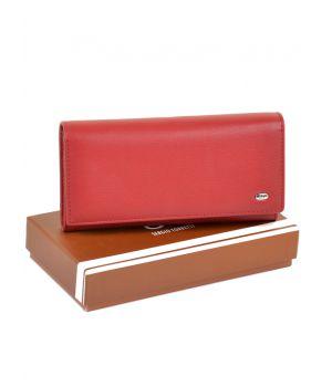 Большой женский кошелек из иск. кожи W501 red, 76429
