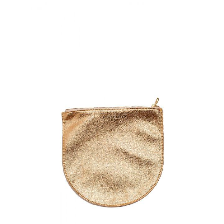 Шкіряна жіноча сумочка-клатч POOLPARTY 5743