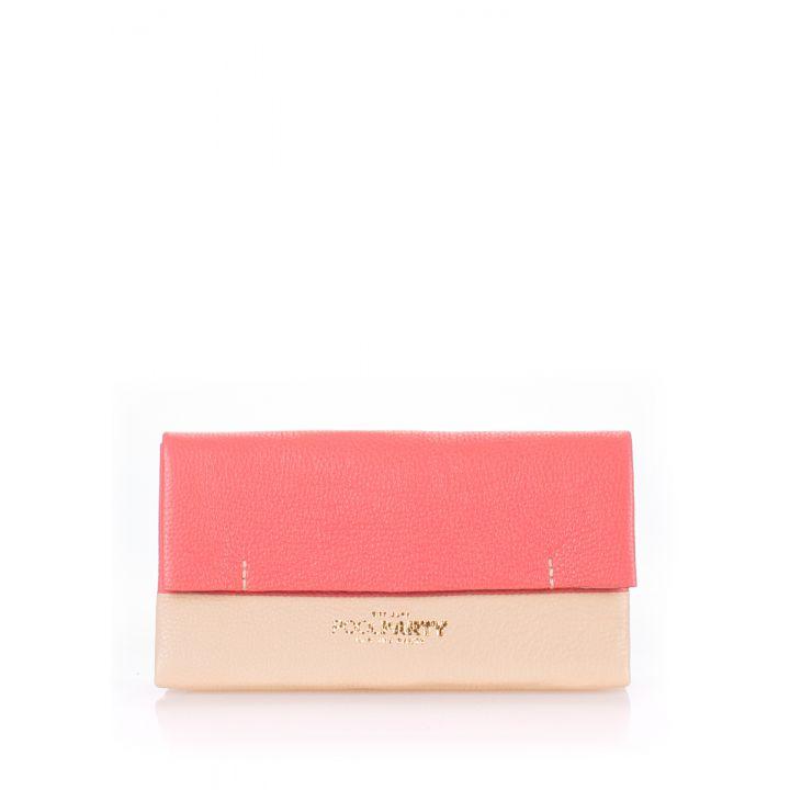 Розовая косметичка-клатч женкая POOLPARTY 2NITE