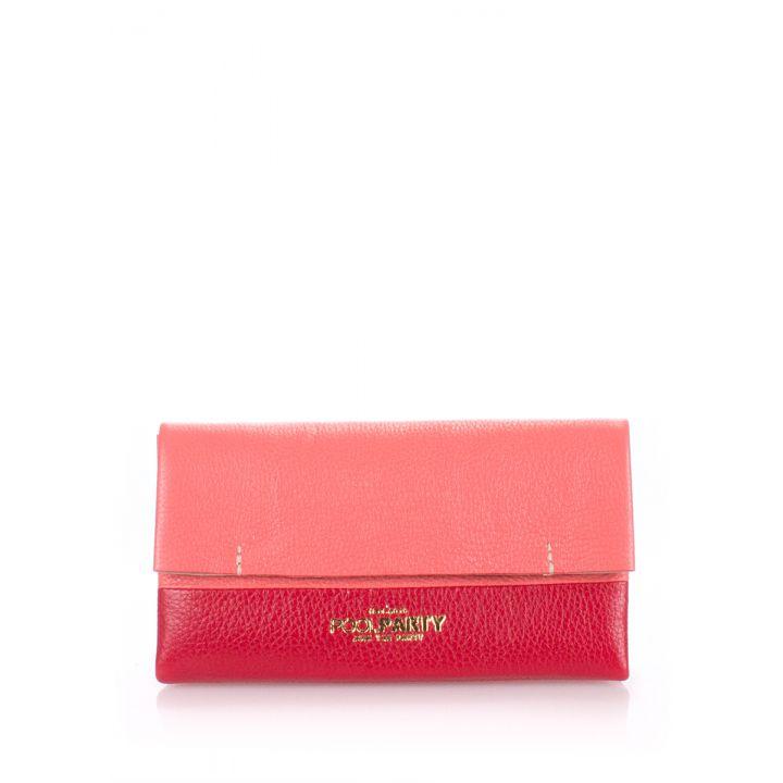 Шкіряна жіноча сумочка-клатч POOLPARTY 2NITE