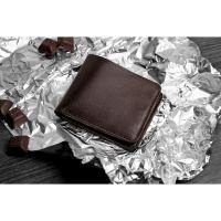 Мужское кожаное портмоне 4.1 (4 кармана) Шоколад