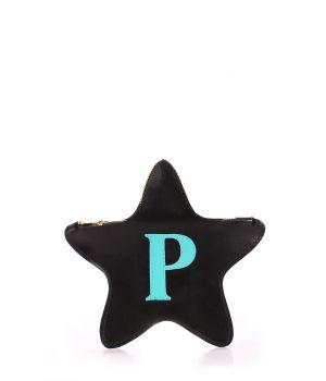 Шкіряний клатч-косметичка POOLPARTY STAR, 18430