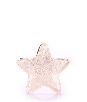Шкіряний клатч-косметичка POOLPARTY STAR, 18431