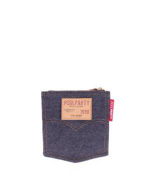 Джинсовая косметичка POOLPARTY Pocket 18444