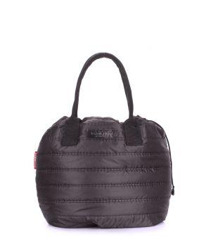 Стеганая сумка на шнурке POOLPARTY Muffin, 18226