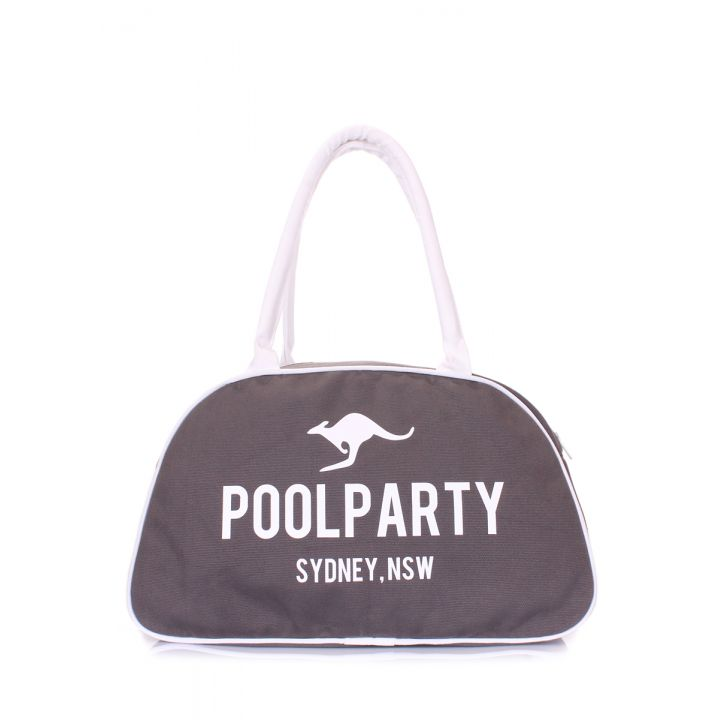Коттонова сумка-саквояж POOLPARTY, 18328