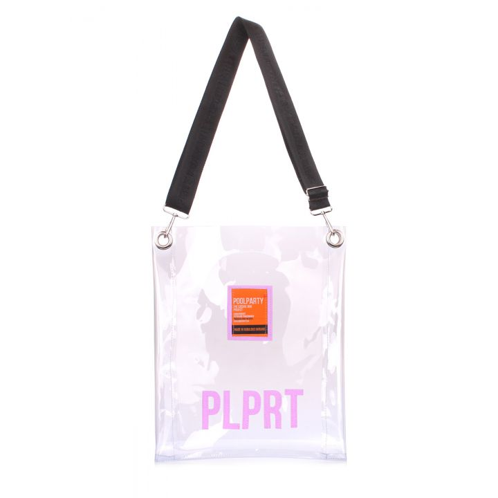 Прозрачная сумка Clear с ремнем на плечо, 62101