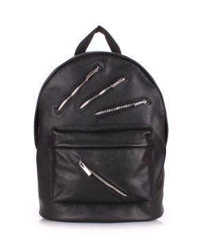 Шкіряний рюкзак POOLPARTY Rockstar, 62022