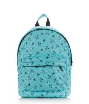 Рюкзак стеганый с уточками POOLPARTY, 61982