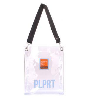 Прозора сумка Clear з ременем на плече, 62102