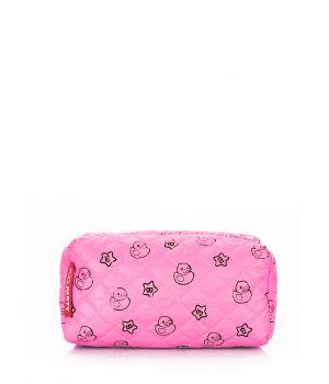 Розовая косметичка с уточками POOLPARTY, 62162