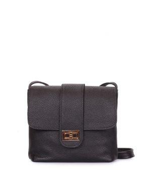 Кожаная сумка на плечо POOLPARTY Kiki, 62122