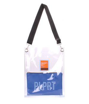 Прозора сумка Clear з ременем на плече, 62103