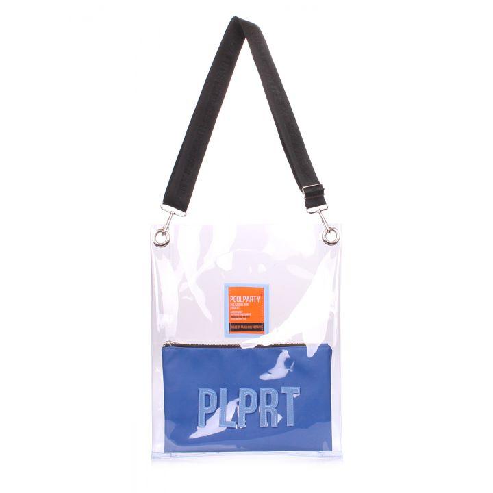 Прозрачная сумка Clear с ремнем на плечо, 62103