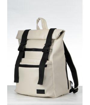 Рюкзак RollTop 0SHn бежевый