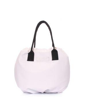 Белая сумка на завязках Muffin, 62096