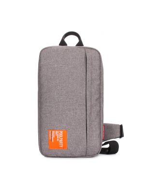 Серый рюкзак - слингпек Jet, 64167