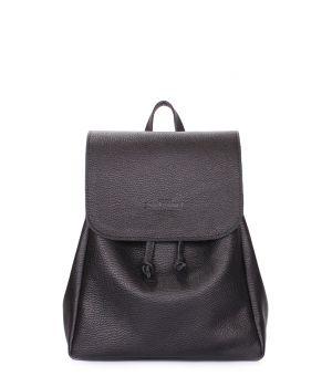 Рюкзак кожаный на завязках POOLPARTY Paris, 61958