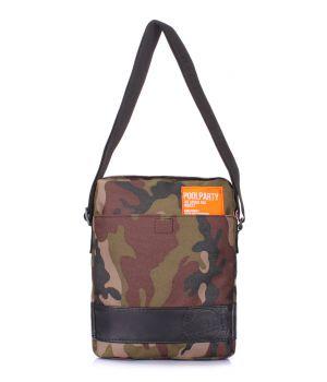 Камуфляжная сумка на плечо POOLPARTY, 62078