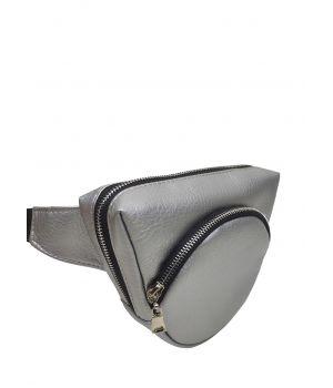 Сумка кроссбоди 0GS серебро