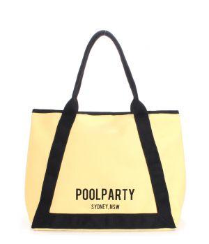 Коттоновая сумка POOLPARTY Laguna, 62049