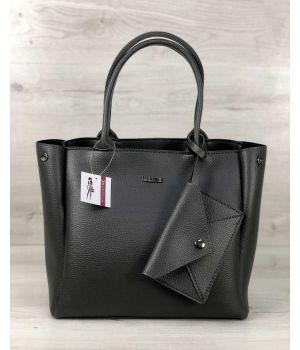 Стильна шкіряна сумка, 73450