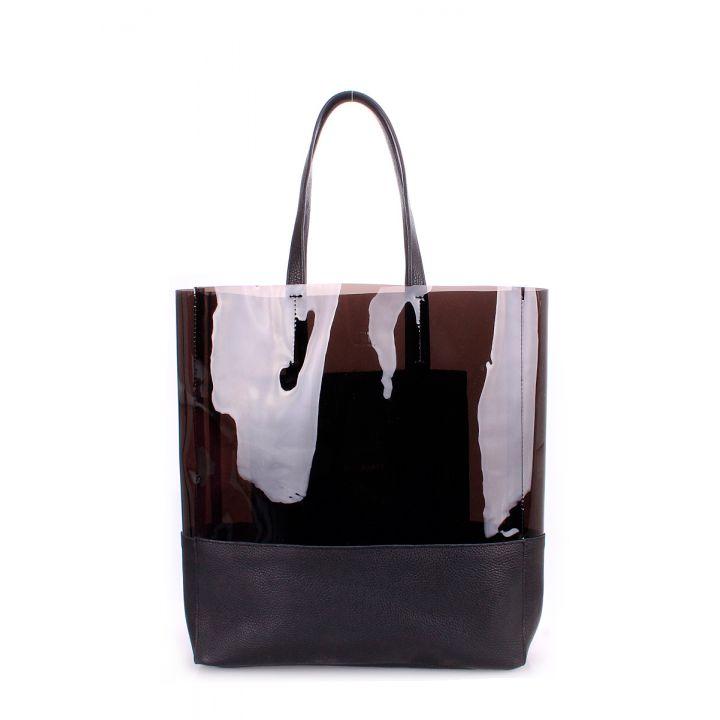 Кожаная сумка POOLPARTY City 2604