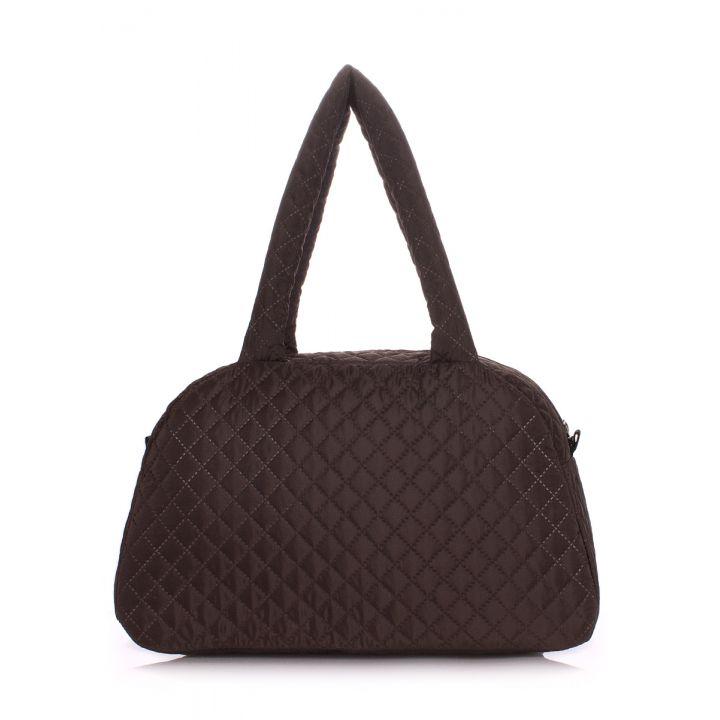 Стеганая сумка-саквояж POOLPARTY, 5490