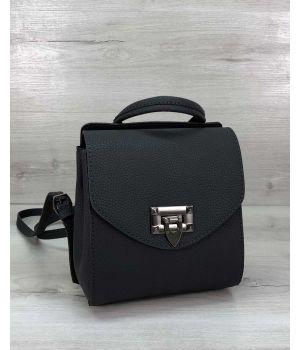 Сумка рюкзак женский Chris графит, 73621