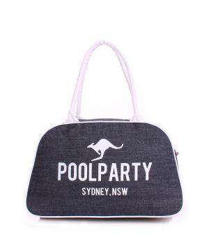 Джинсова сумка-саквояж POOLPARTY, 5571
