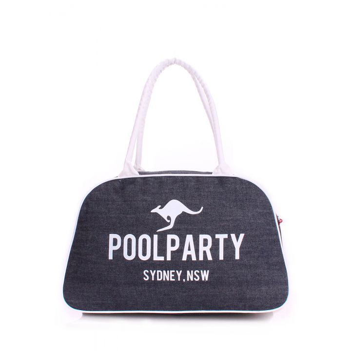 Джинсовая сумка-саквояж POOLPARTY, 5571