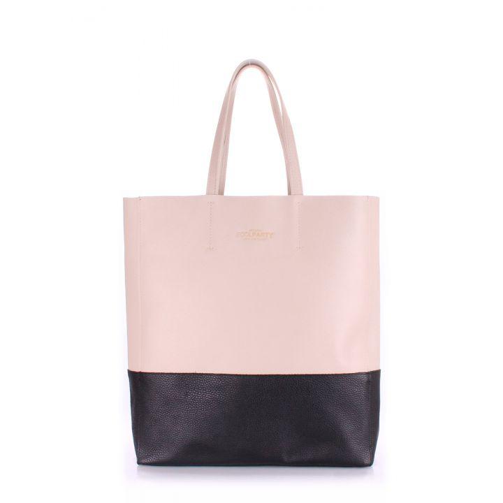 Кожаная сумка POOLPARTY City 5651