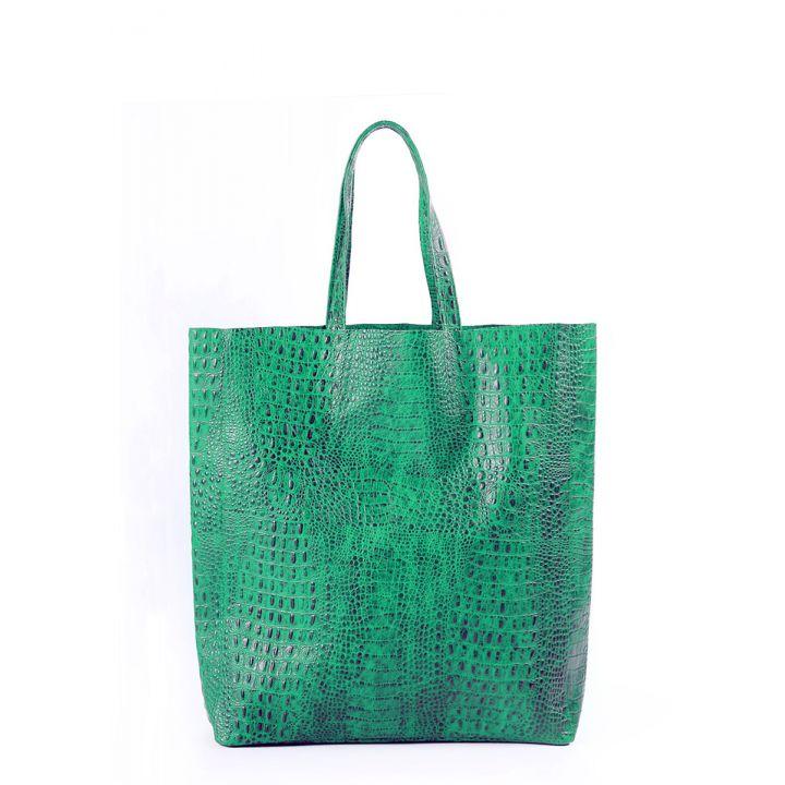 Шкіряна сумка POOLPARTY City 2606