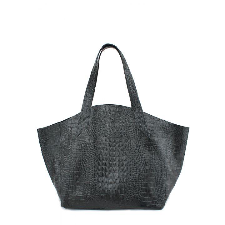 Кожаная сумка POOLPARTY Fiore, 5701
