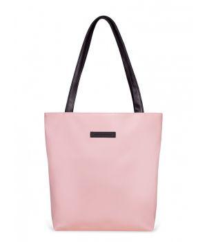 Сумка шоппер Elisse, экокожа розовая, 73893