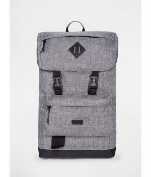 Рюкзак CAMPNG BACKPACK grey melange 2,19