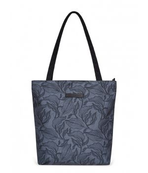 Сумка шоппер Elisse, серые листья