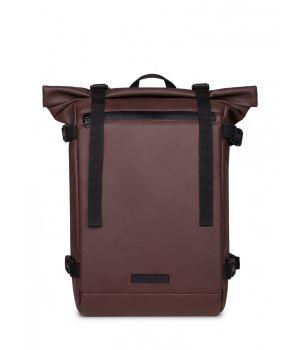 Рюкзак LOWER эко-кожа коричневая матовая 1,21