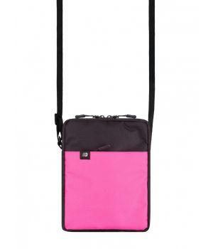 Сумка через плечо Mini 3, черно розовая