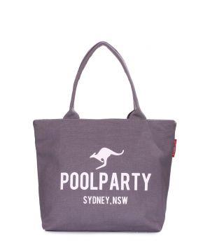 Холщевая сумка POOLPARTY, 64210