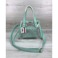 Женская сумка Aster мятная, 73682