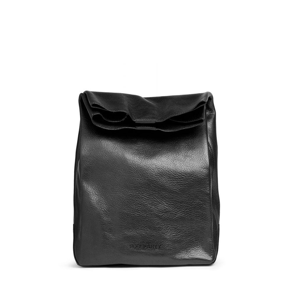 238f09a3bb71 Кожаная сумка-клатч POOLPARTY Lunchbox