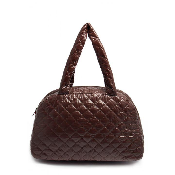 Стеганая сумка-саквояж POOLPARTY, 5492