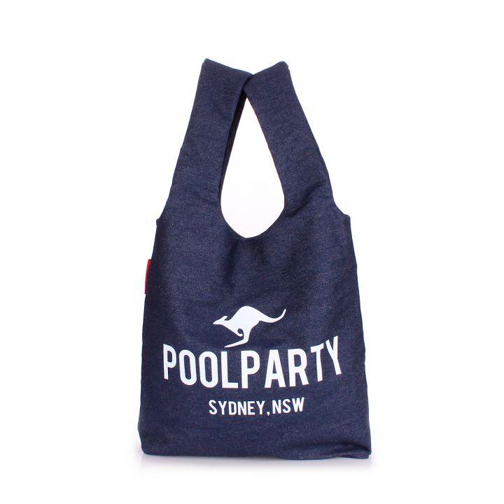 Коттоновая сумка POOLPARTY, 5562