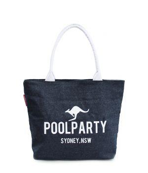 Джинсова сумка POOLPARTY, 5502