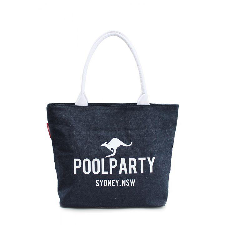 Джинсовая сумка POOLPARTY, 5502