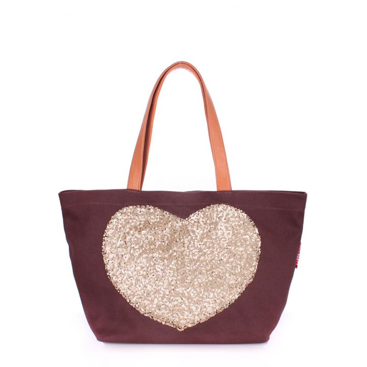 Текстильная сумка POOLPARTY Lovetote